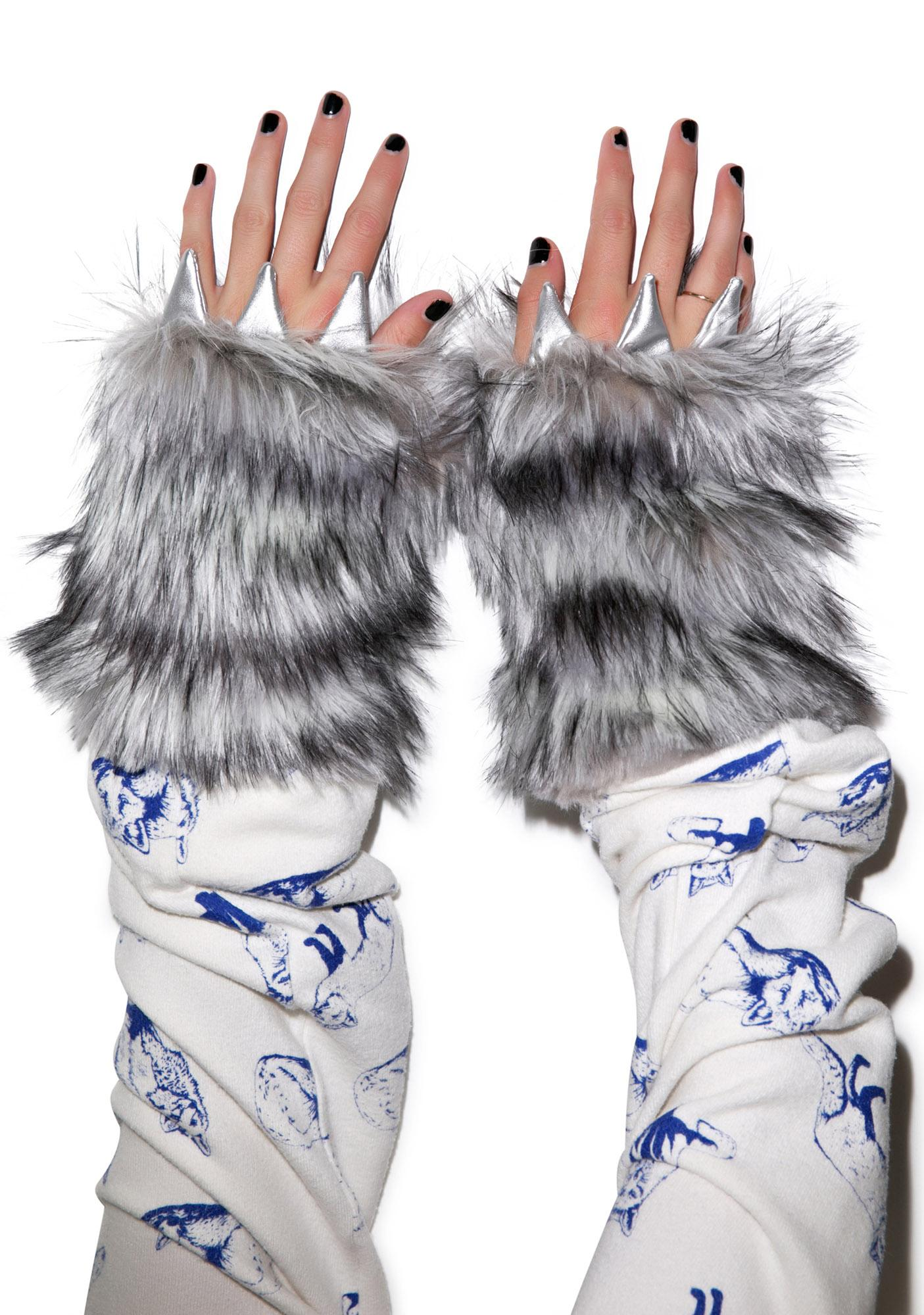 J Valentine Big Bad Wolf Gloves