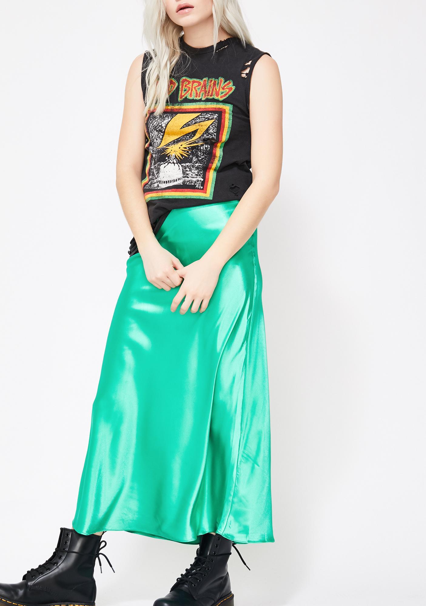 Lush Club Midi Skirt
