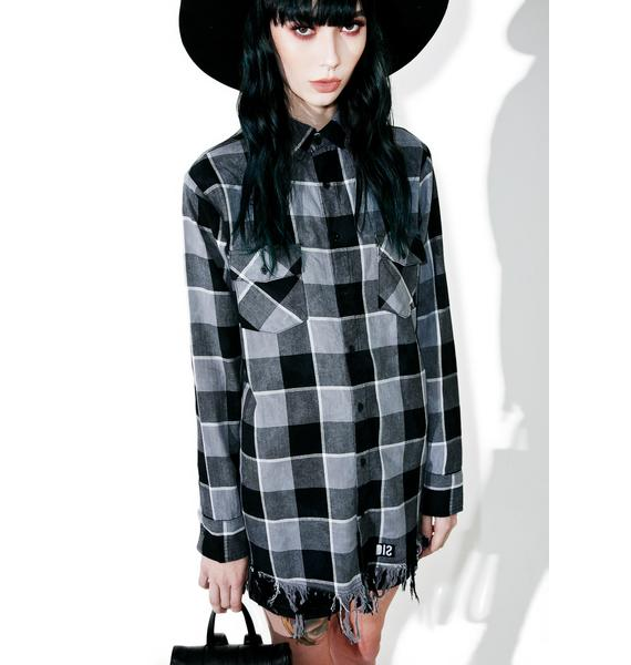 Disturbia Melvin Plaid Shirt