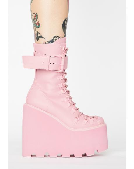 Bubblegum Traitor Boots