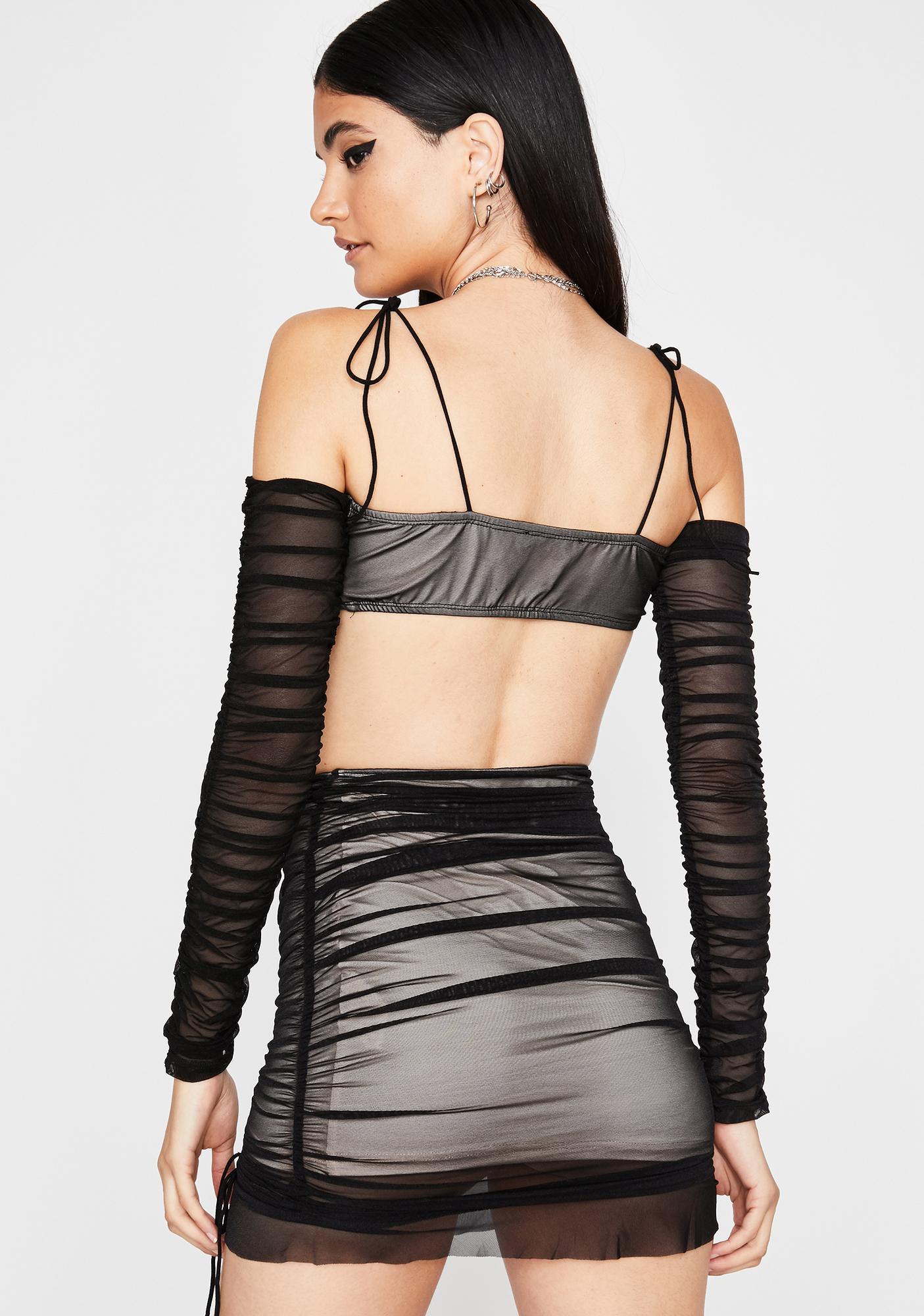 Obsidian Luv Me Good Skirt Set