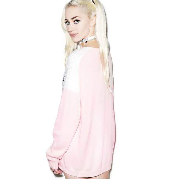 Wildfox Couture Joan Baggy Boy Beach V-Neck Sweater