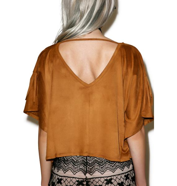 Alamo Fringed Top