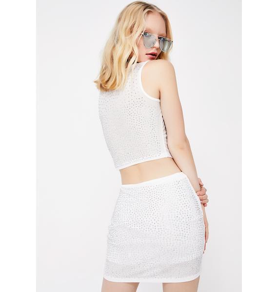 Sparkled Up Skirt Set