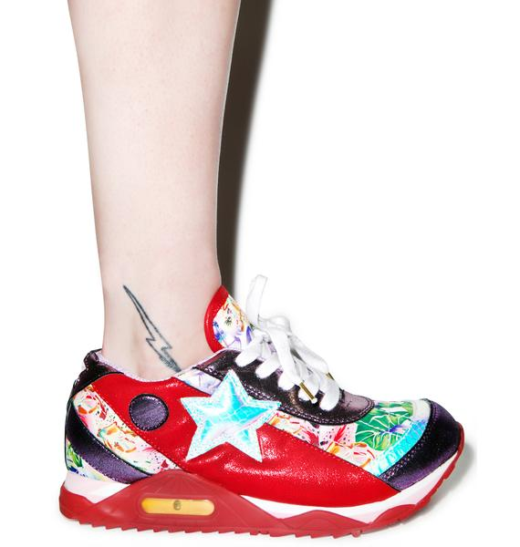 Irregular Choice Big Star Sneakers