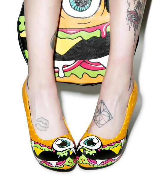 Iron Fist Cycloburger Platform Heels