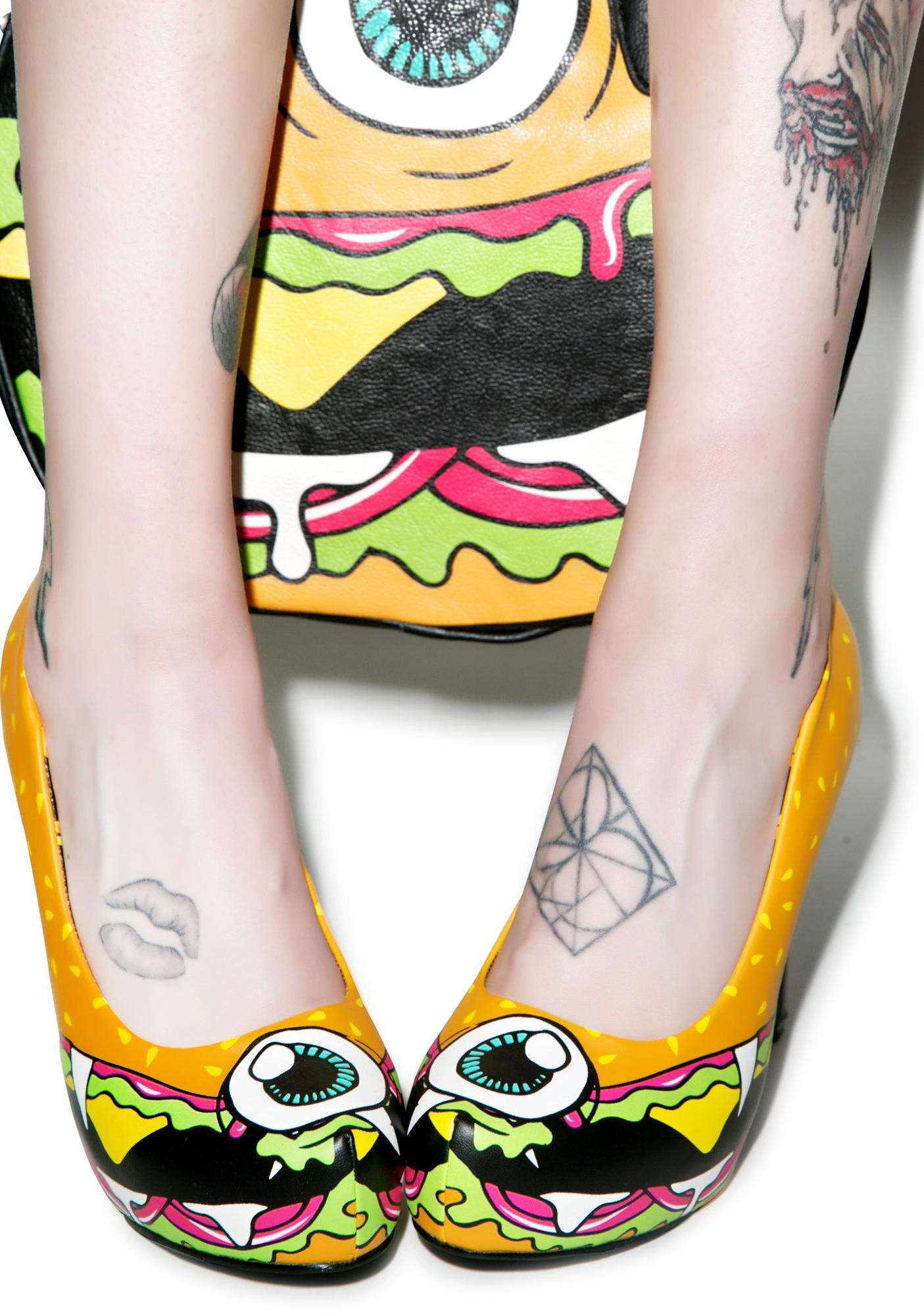 Iron Fist Cycloburger Platform Heels