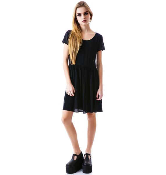 Evil Twin Puncture Baby Doll Dress