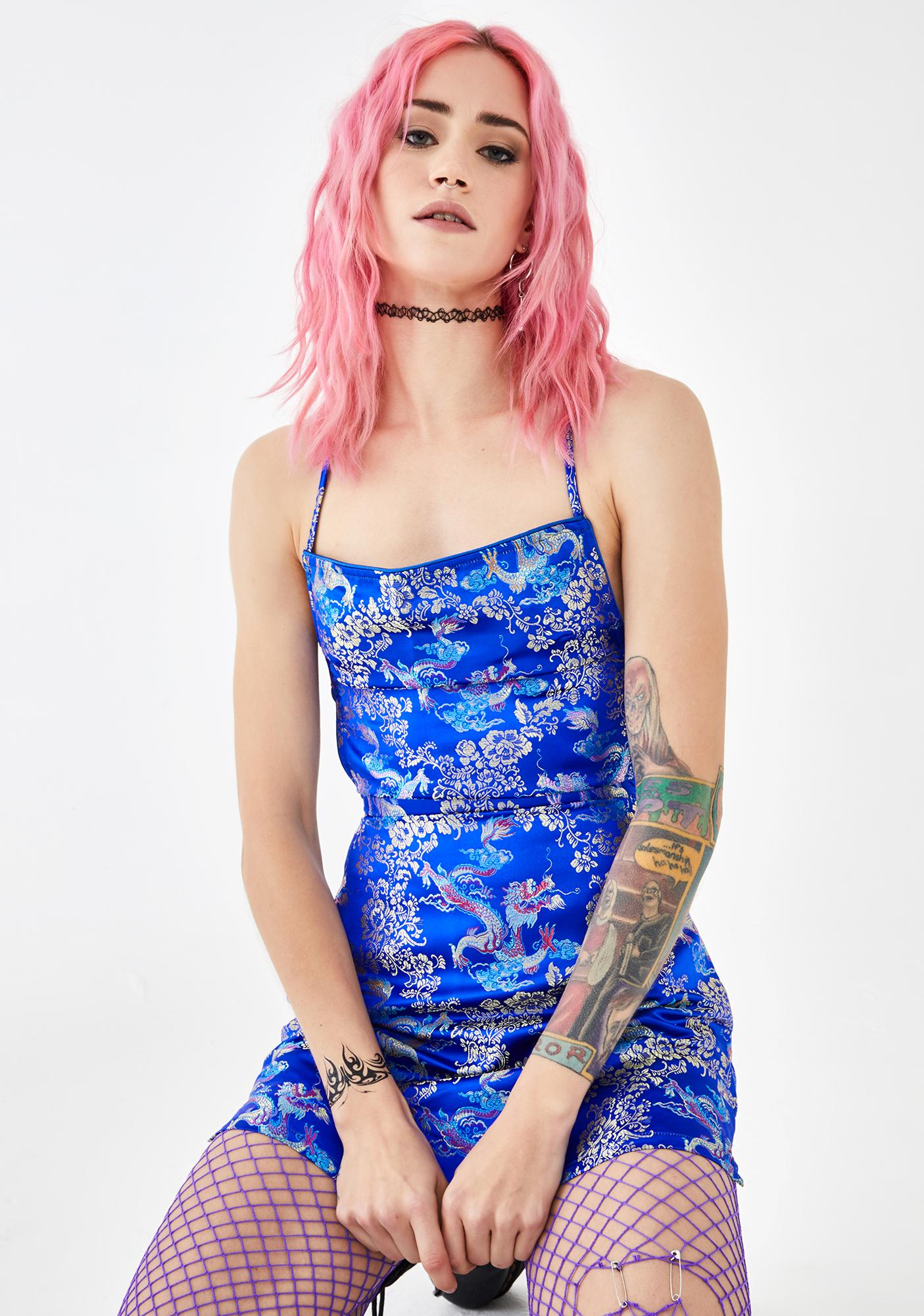 Current Mood New Solace Jacquard Dress