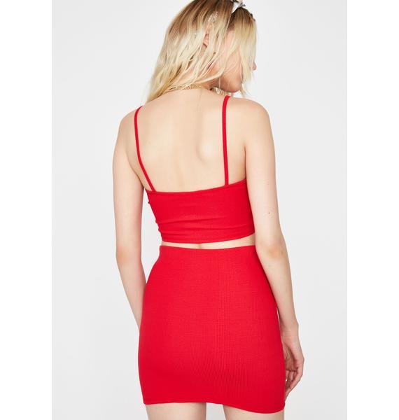 Baesic BB Skirt Set