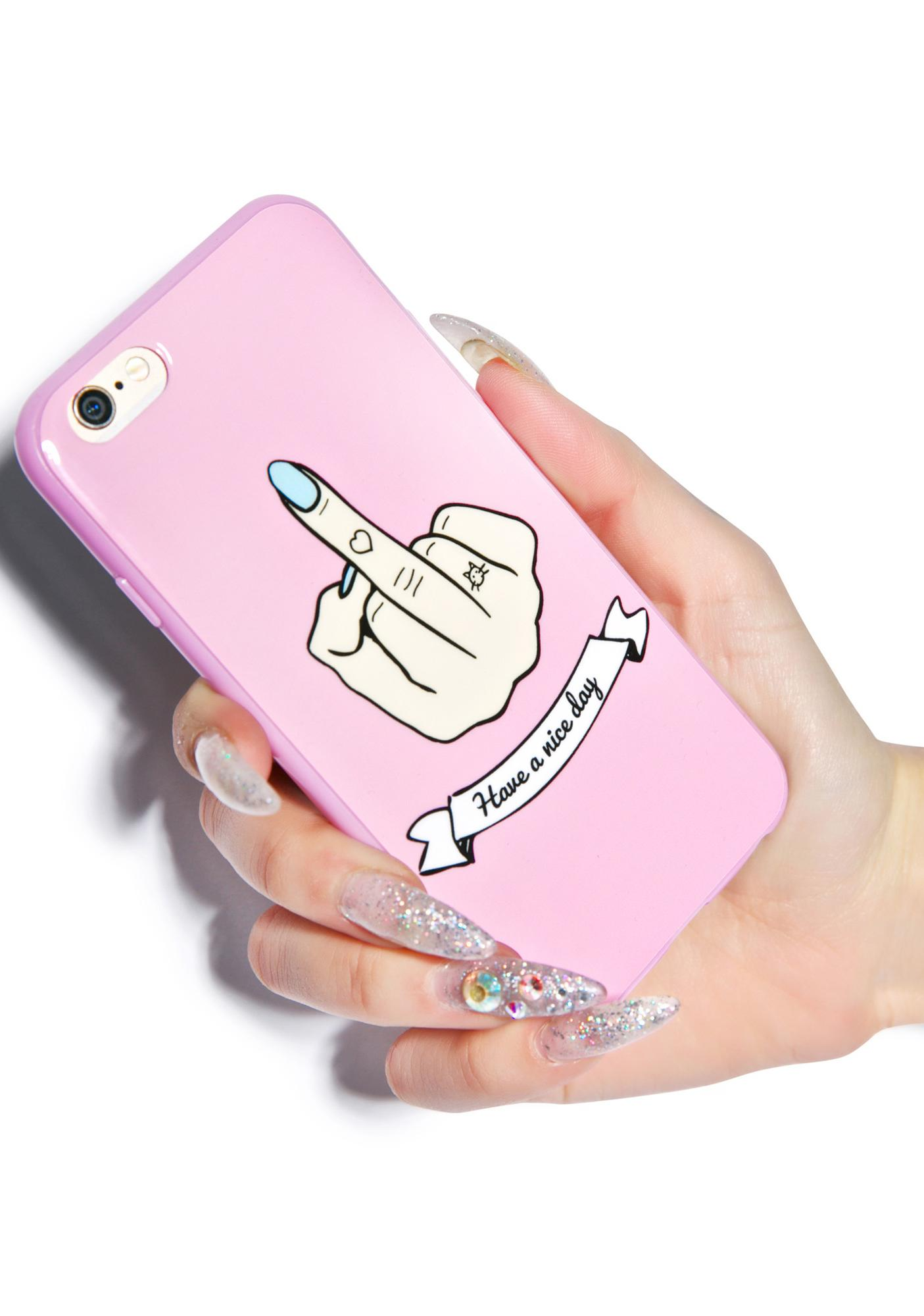 Local Heroes Middle Finger iPhone 5 Case