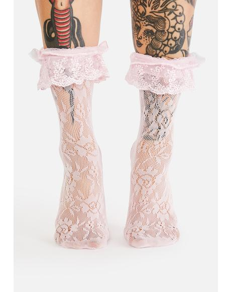 Heavenly Harmony Lace Socks