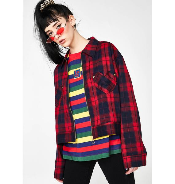 Lazy Oaf Sorry We're Closed Jacket