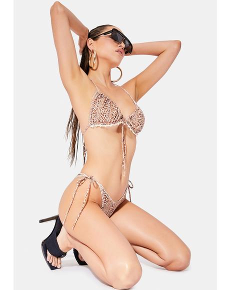 Abril Giraffe Bikini Set
