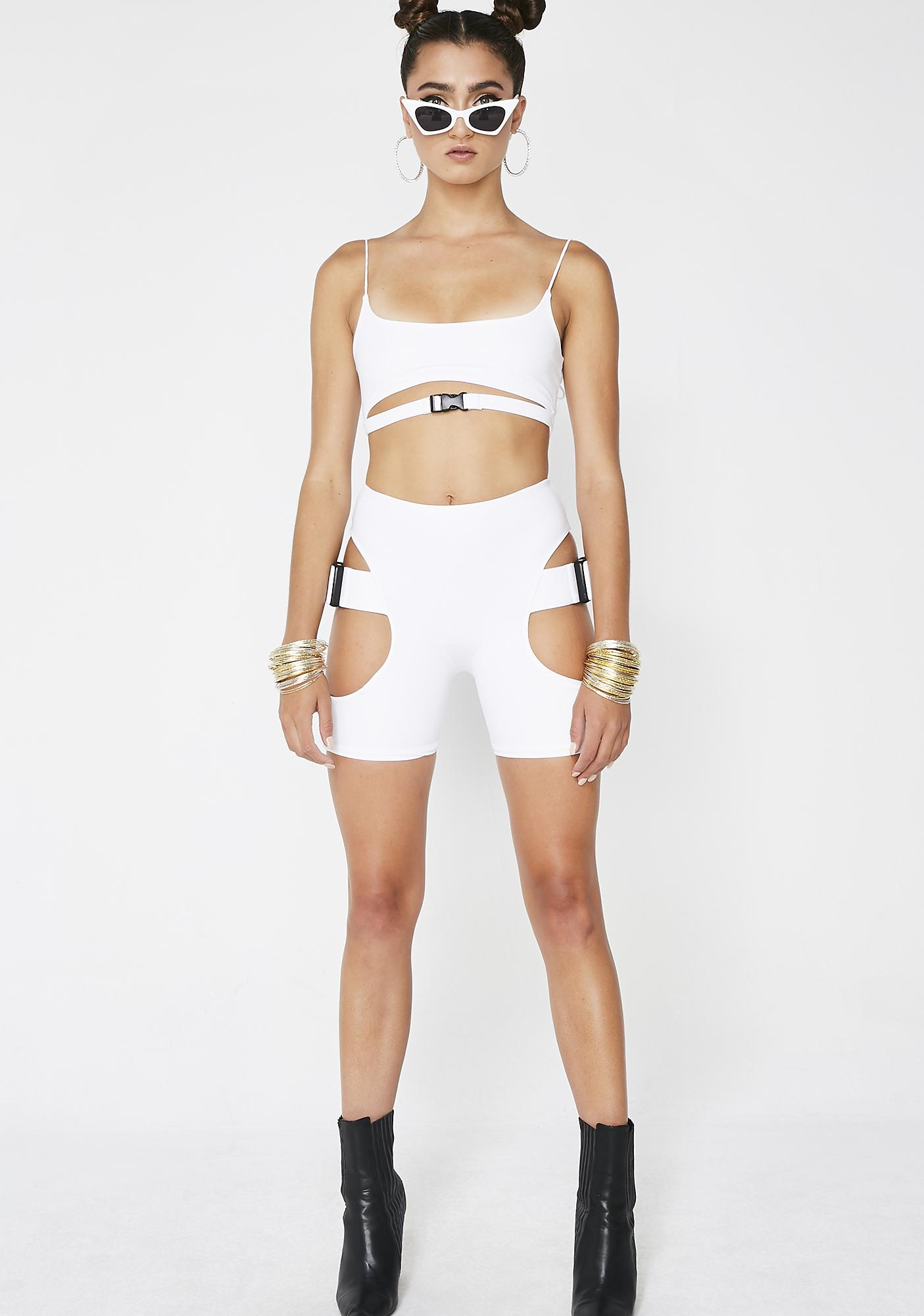 Lipt The Label Pure Buckle Shorts