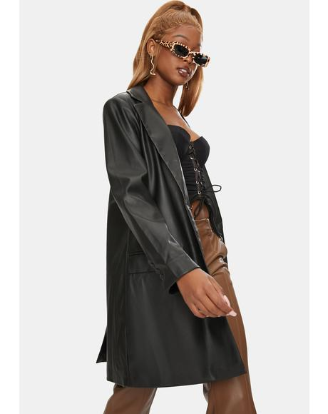 Model Behavior Coat