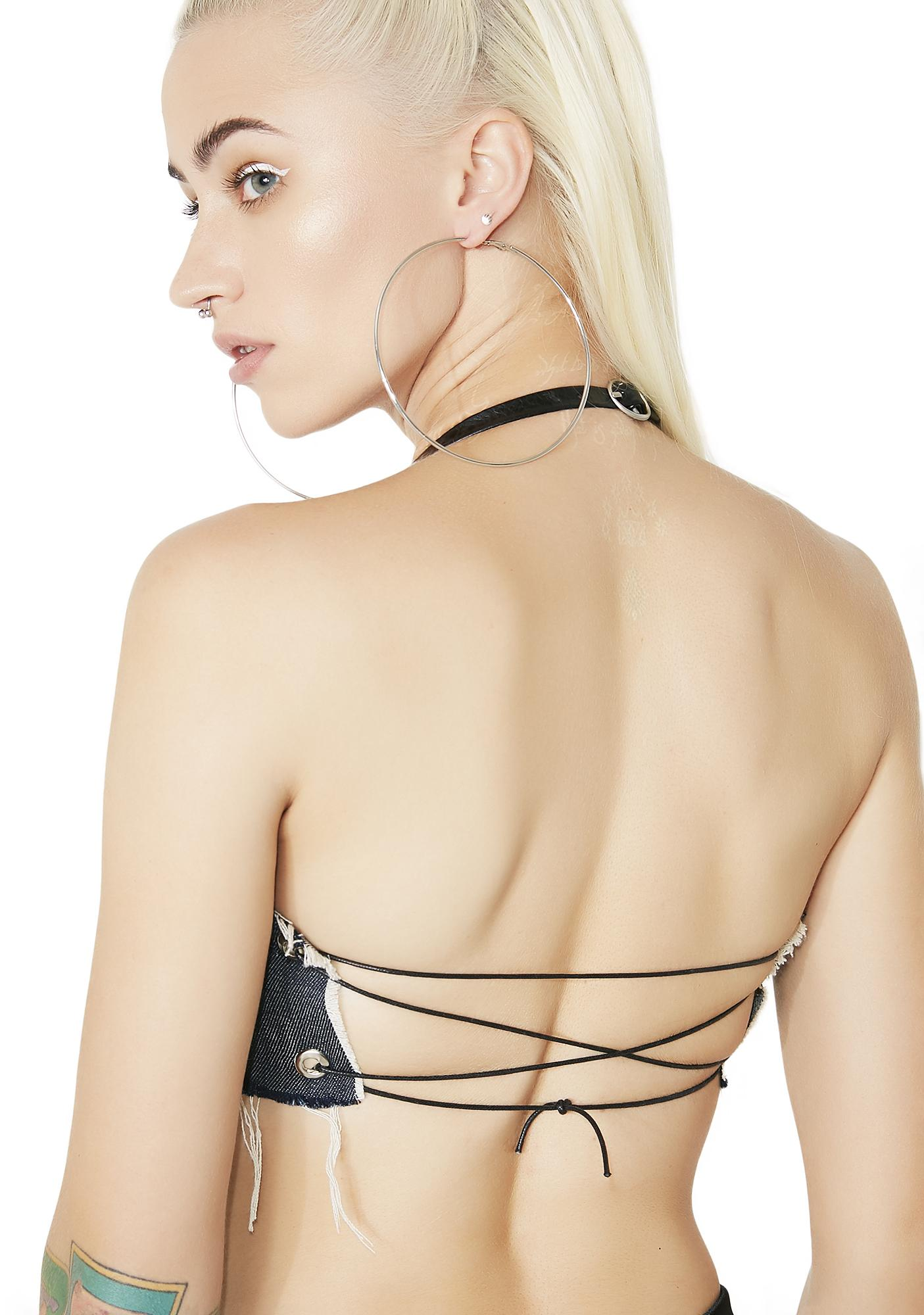 SerpentsNest Kim Halter Top