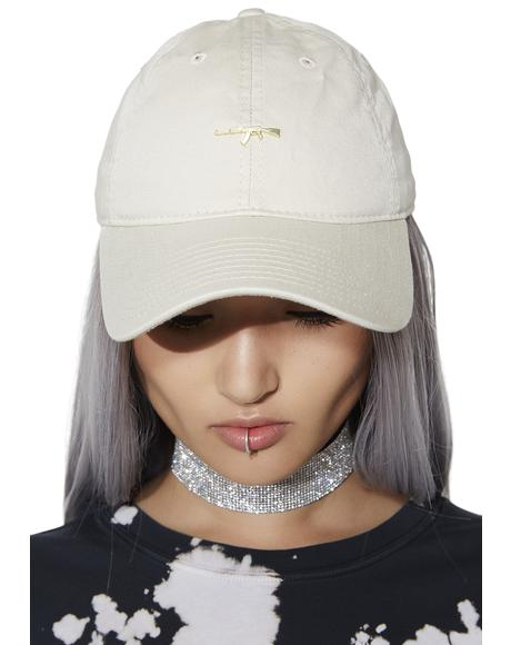 Gold AK Dad Hat