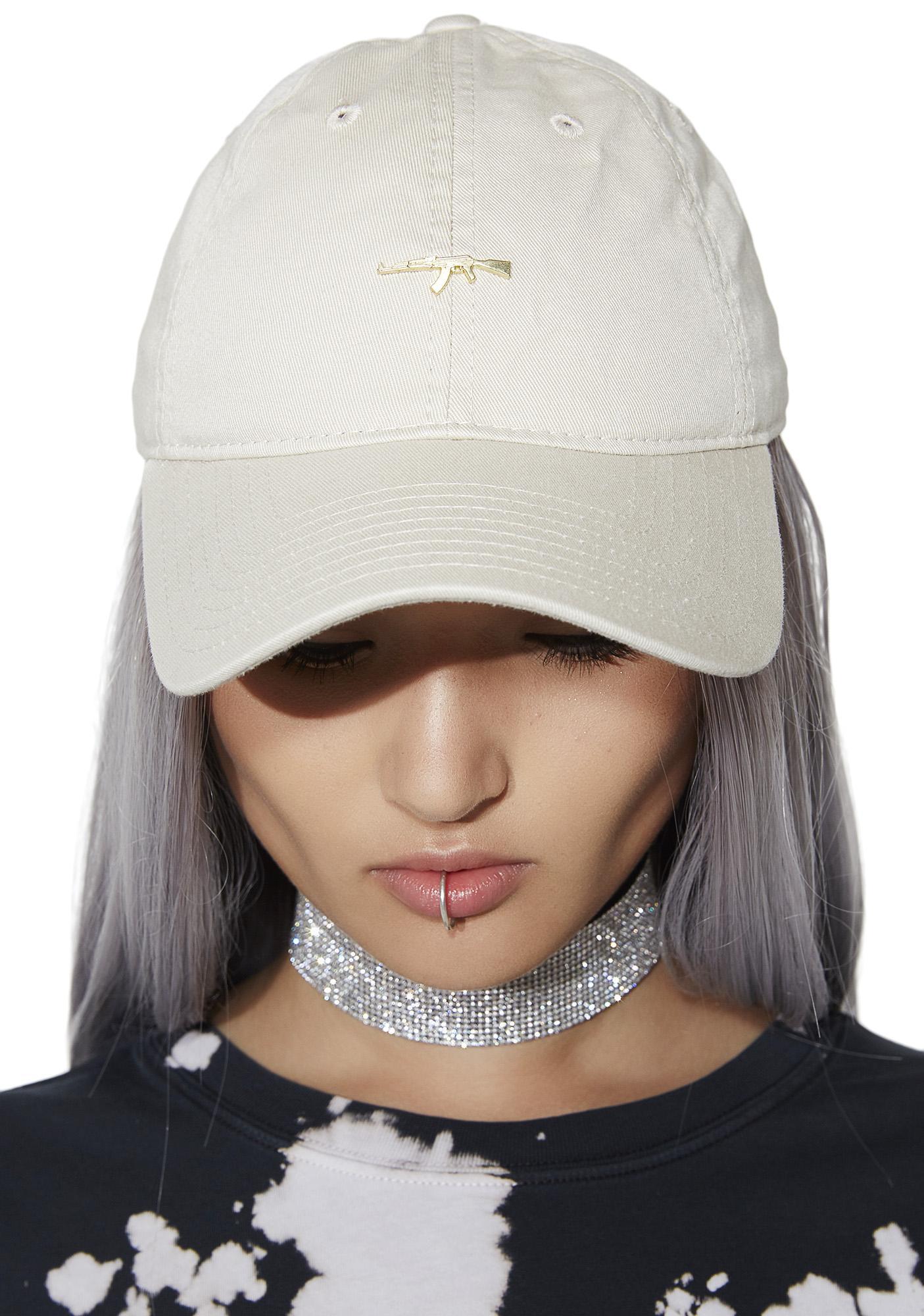 Defend Paris Gold AK Dad Hat