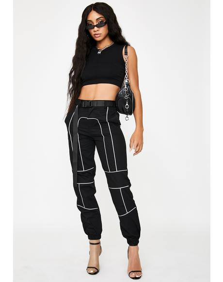 Zhenya Reflective Pants