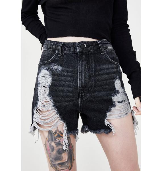 Disturbia Kiss My Ass Shorts