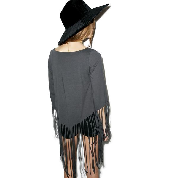 Fly High She Devil Fringe Top