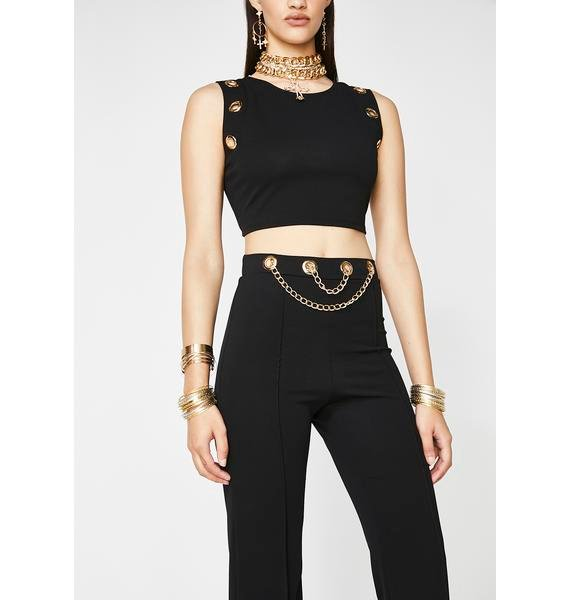 Chain Hang Low Co-Ord Set