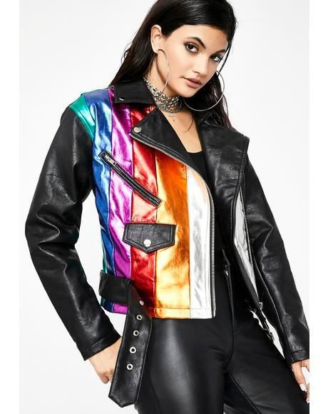 Electrifying Moto Jacket