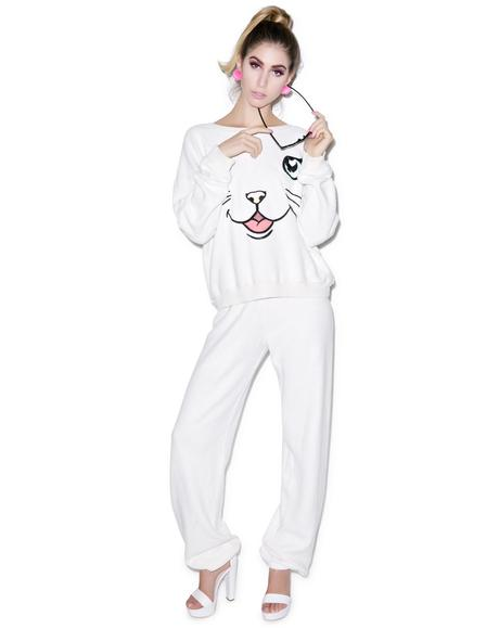 Chenille Wildfox P.E. Sweats