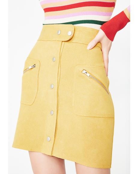 The Flip Side Mini Skirt
