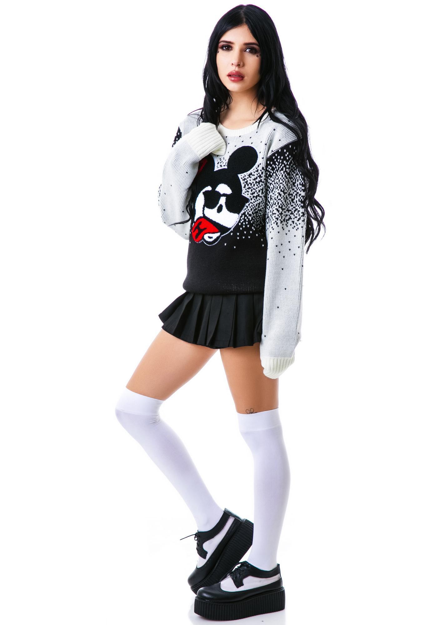 Halfman Romantics Wonderland Crew Knit Sweater
