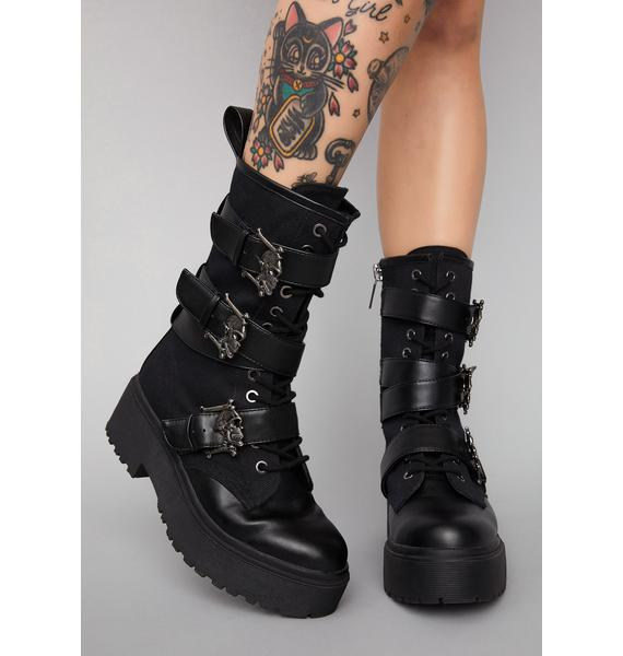 Widow Immortalized Fate Combat Boots