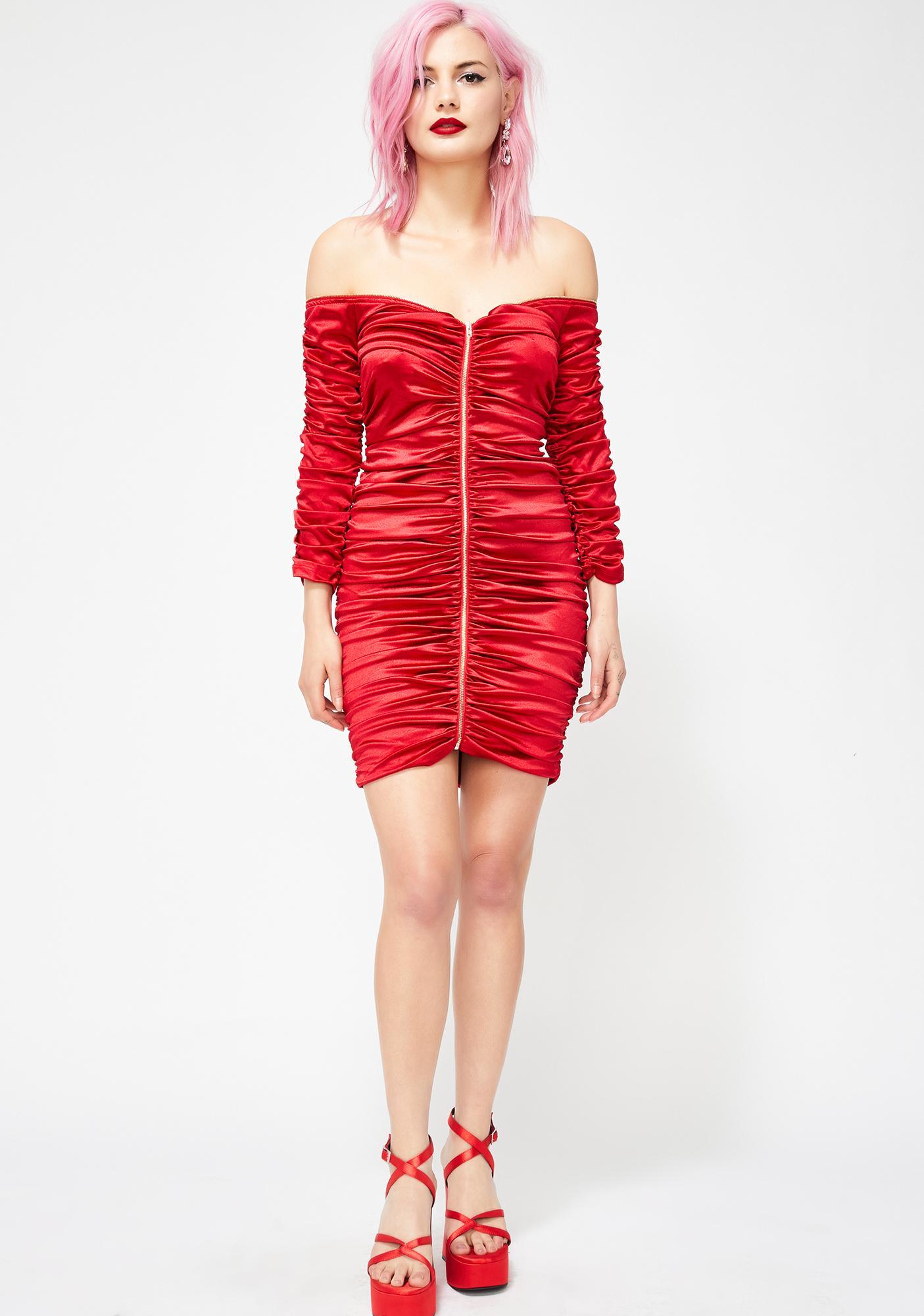Siren Sass Mini Dress