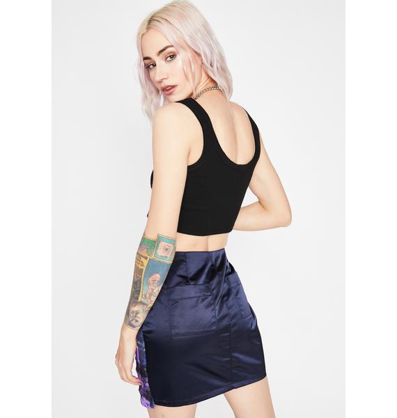 Sea What Ur Missing Plaid Skirt