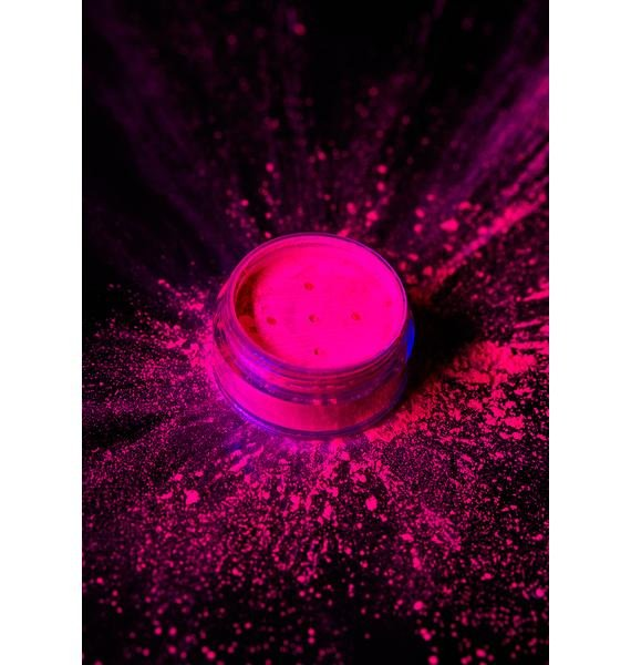 Moon Creations Intense Pink UV Neon Pigment Shaker