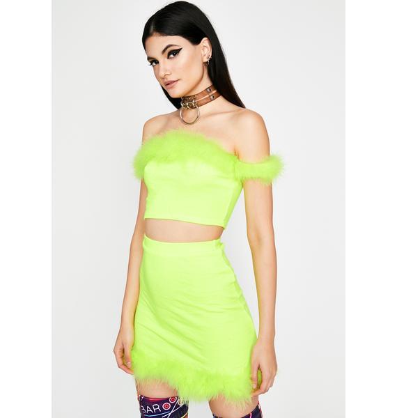 Electric Clique Bait Skirt Set