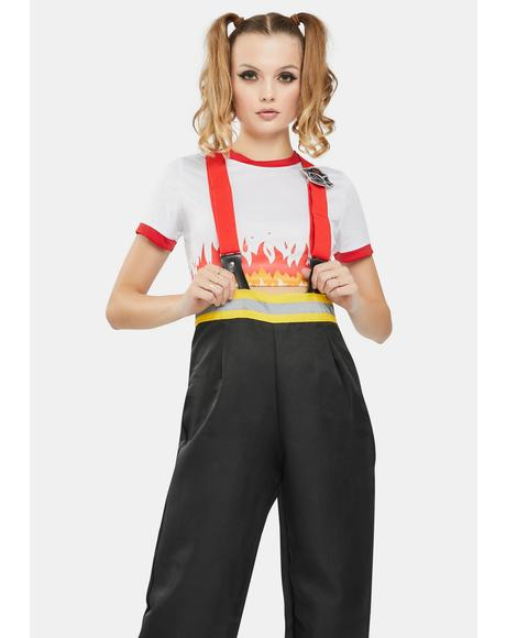 Five-Alarm Firefighter Costume Set