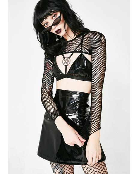 Bite Me Fishnet Bolero