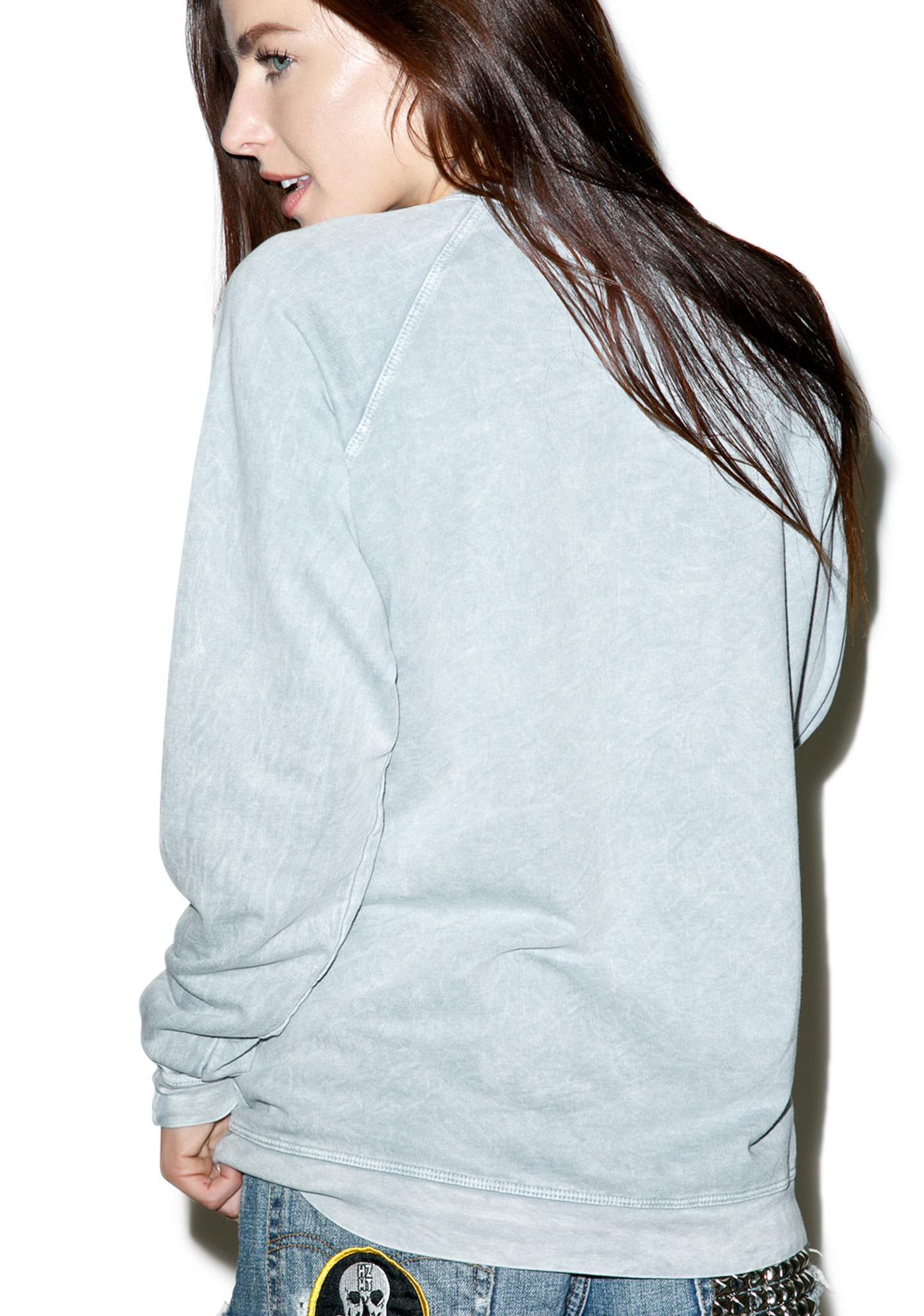 Hips and Hair Rude Sweatshirt