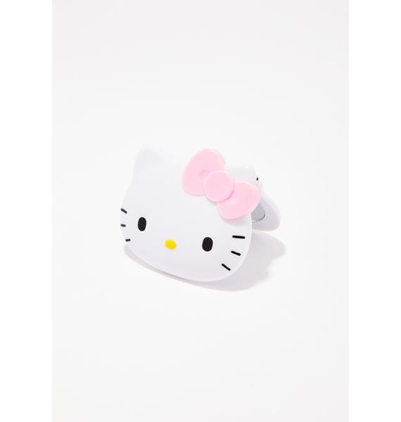 Sanrio Summer Hello Kitty Face Mirror