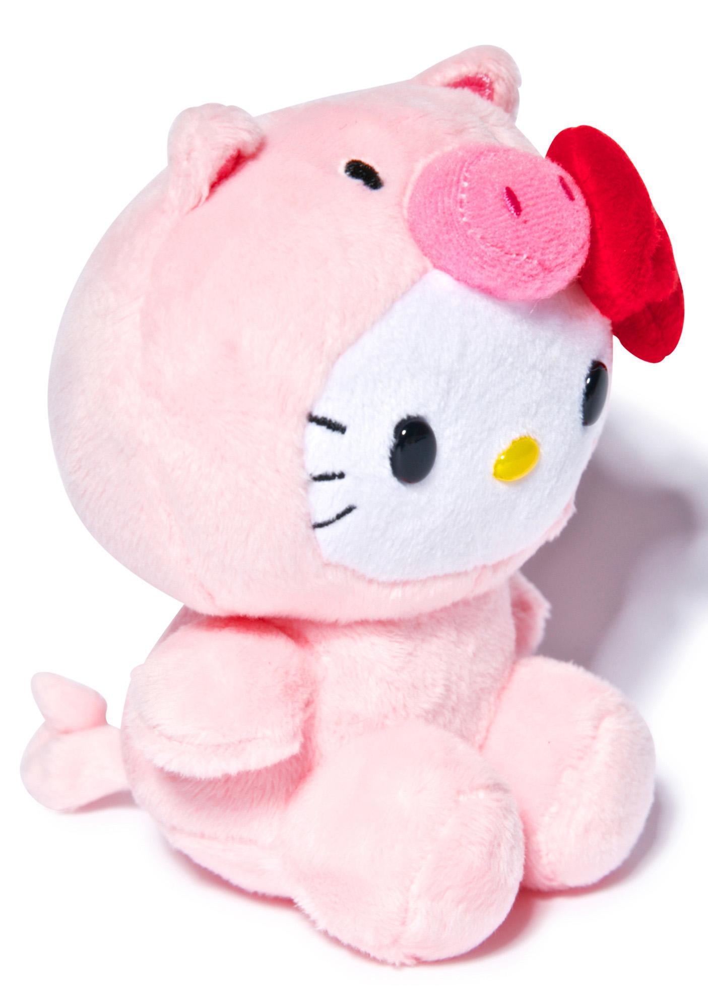 Sanrio Farm Friends Hello Kitty Pig Plush