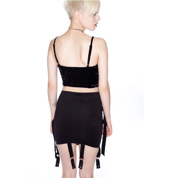 UNIF Garter Skirt