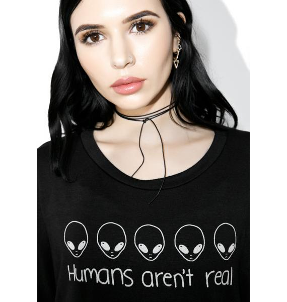 Humans Aren't Real Long Sleeve