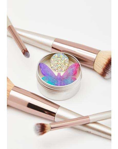 Retro Butterfly Makeup Brush Cleaner