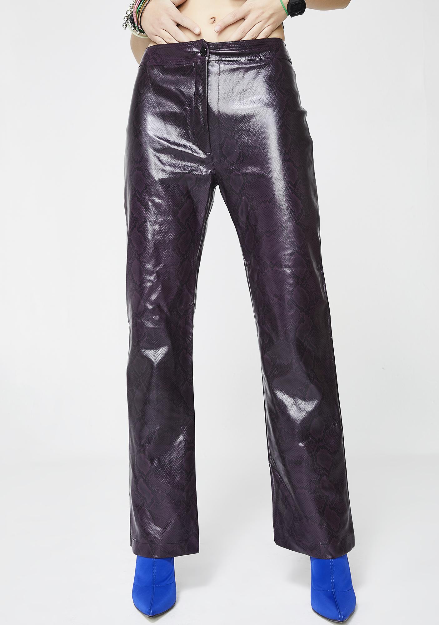 Vintage Snakeskin Pants
