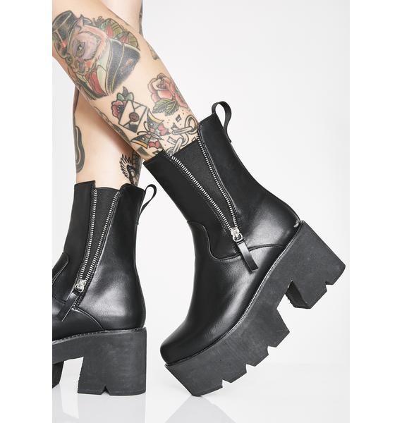 Lamoda Ain't Trippin' Platform Boots