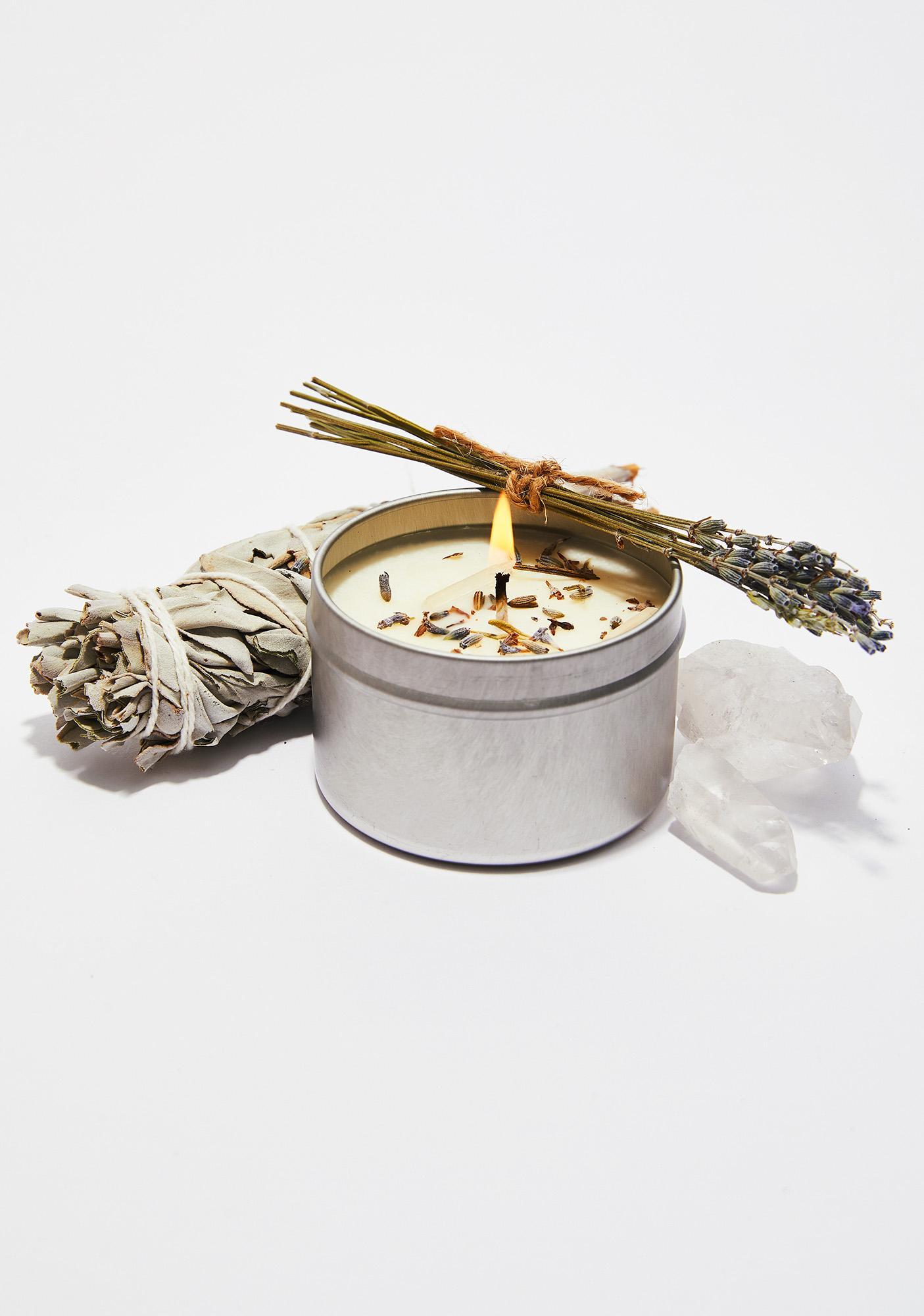 J. SOUTHERN STUDIO Lavender Ritual Candle