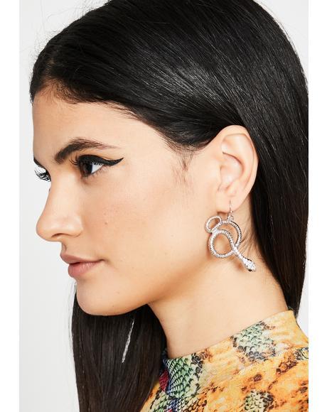 Hisses N' Kisses Drop Earrings