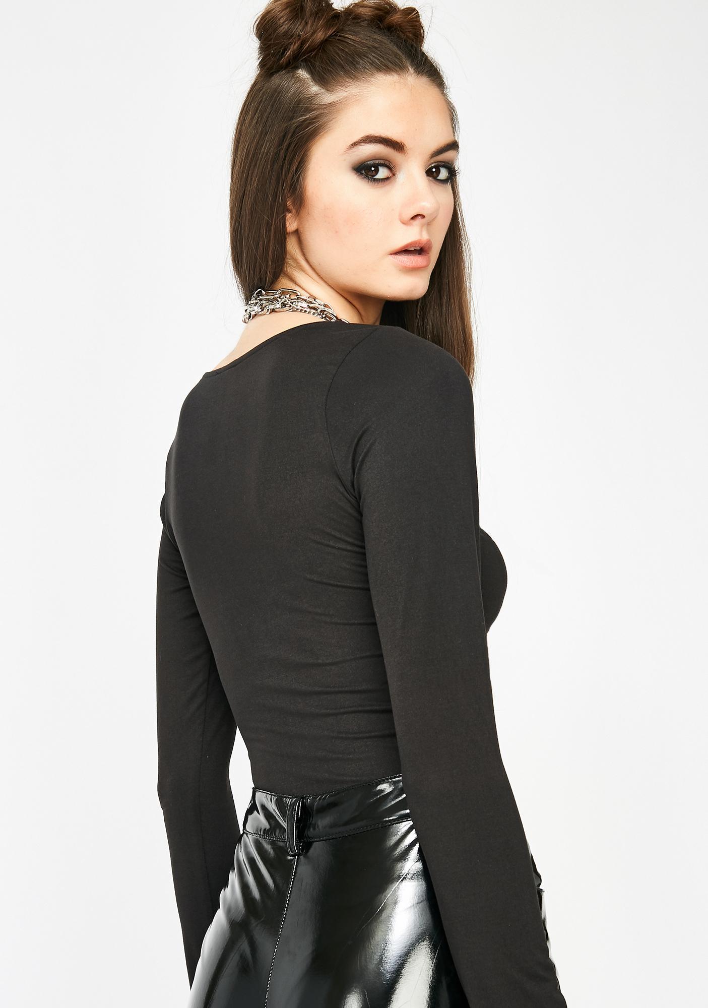 Show It Off Long Sleeve Bodysuit