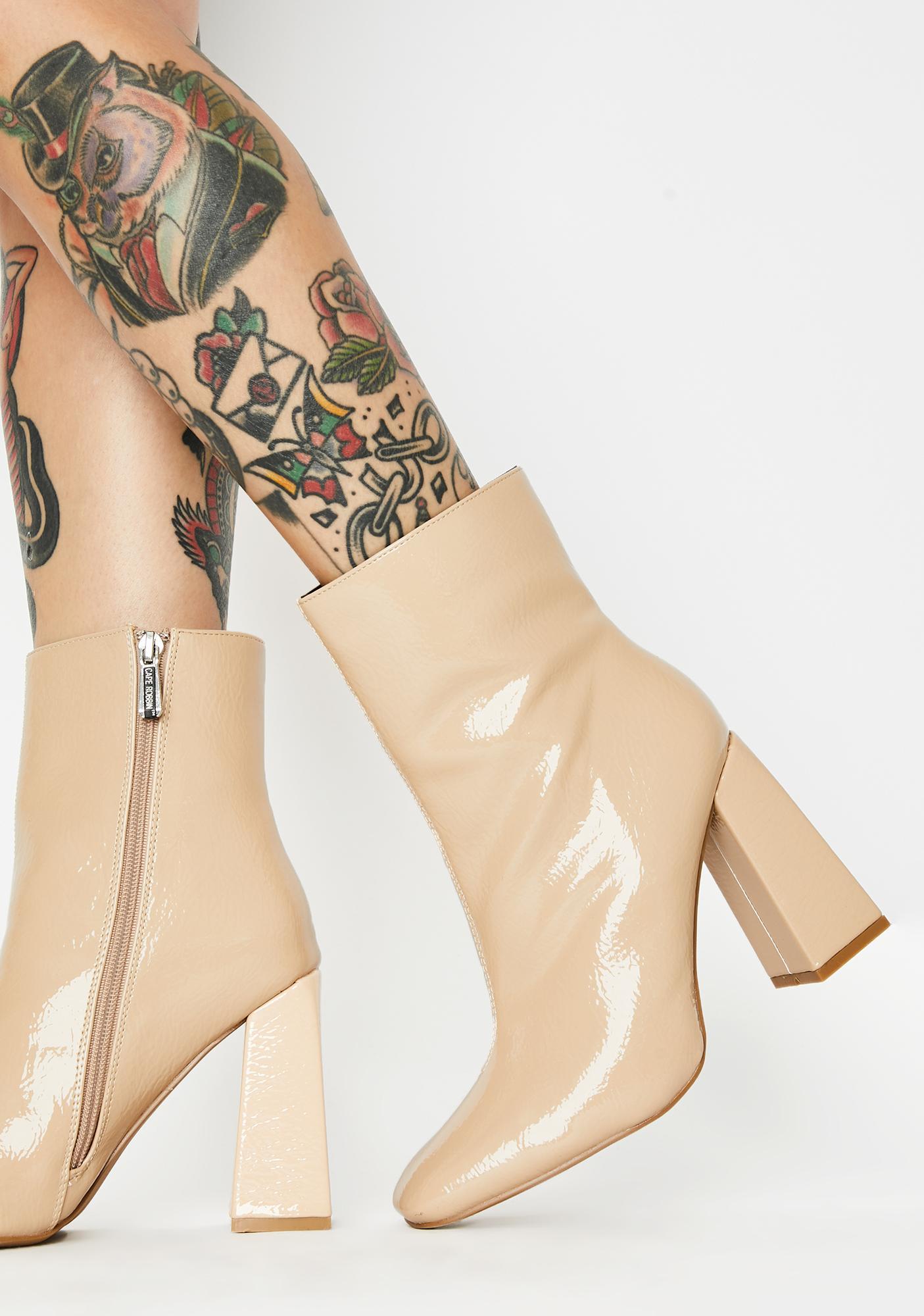 Rude Attitude Ankle Boots